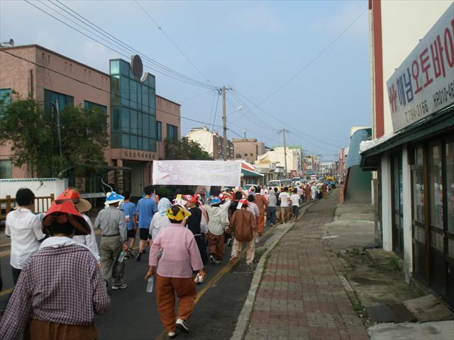 전도 순례지 걷기 행사-a32