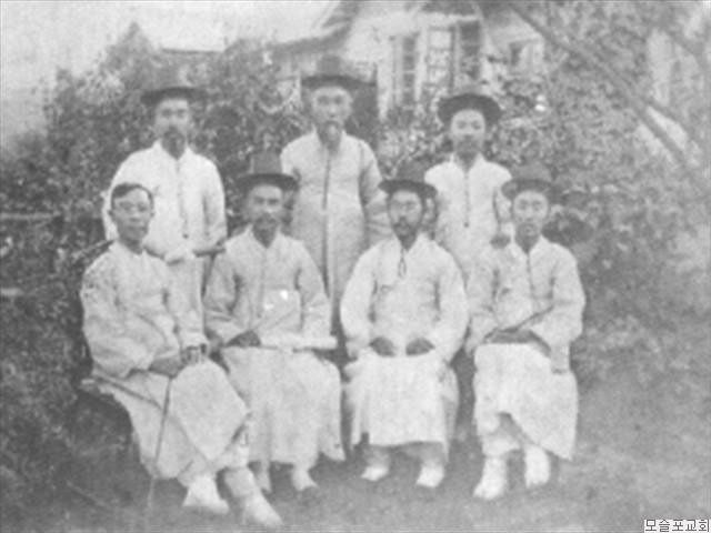 1907독노회 목사안수받은 1회 졸업생