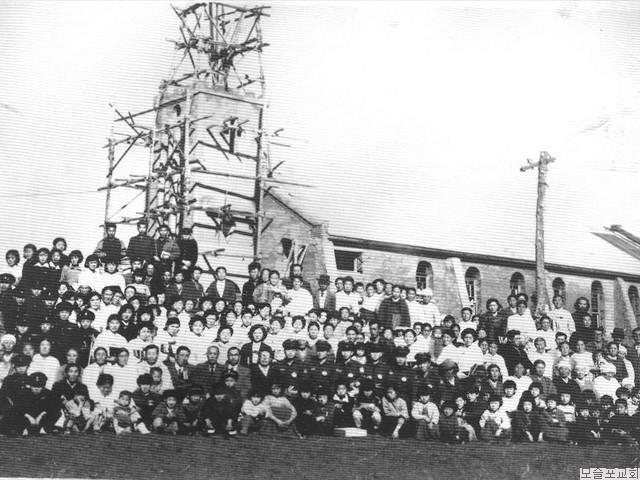 신축예배당 기념사진(1959.5.)