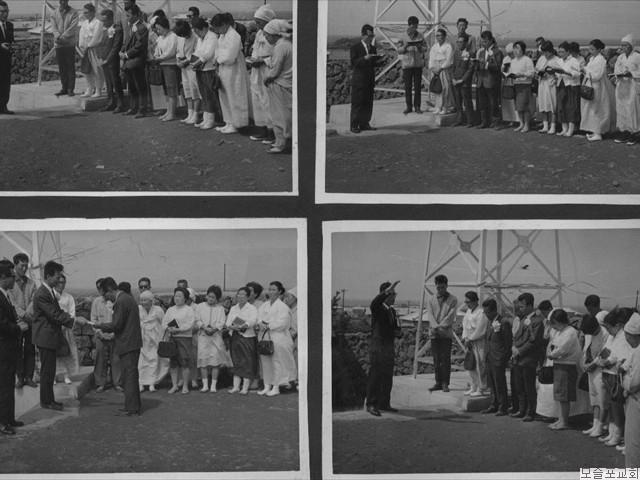 종각 준공   기념예배(1970.5.30)