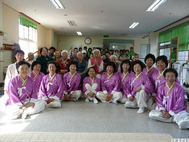풍물선교부 봉사활동(2008.3.25)